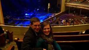 In the historic Ryman Auditorium--a fantastic show indeed!