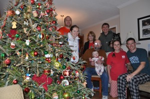 Christmas with the Kirbys in Abbeville.