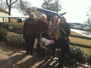Four generations of Kirby women