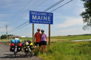 So proud as we crossed our first state line!